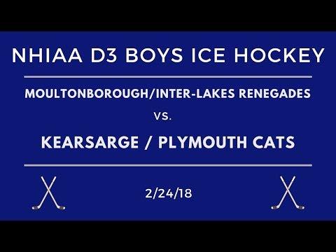Kearsarge/Plymouth Cats Ice Hockey vs. Moultonborough/Inter-Lakes Renegades 2/24/18