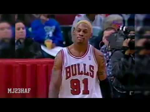Hack-a-Rodman Gone Wrong for Don Nelson (1997.12.29)