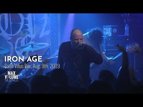 IRON AGE live at Saint Vitus Bar, Aug. 9th, 2019 (FULL SET)