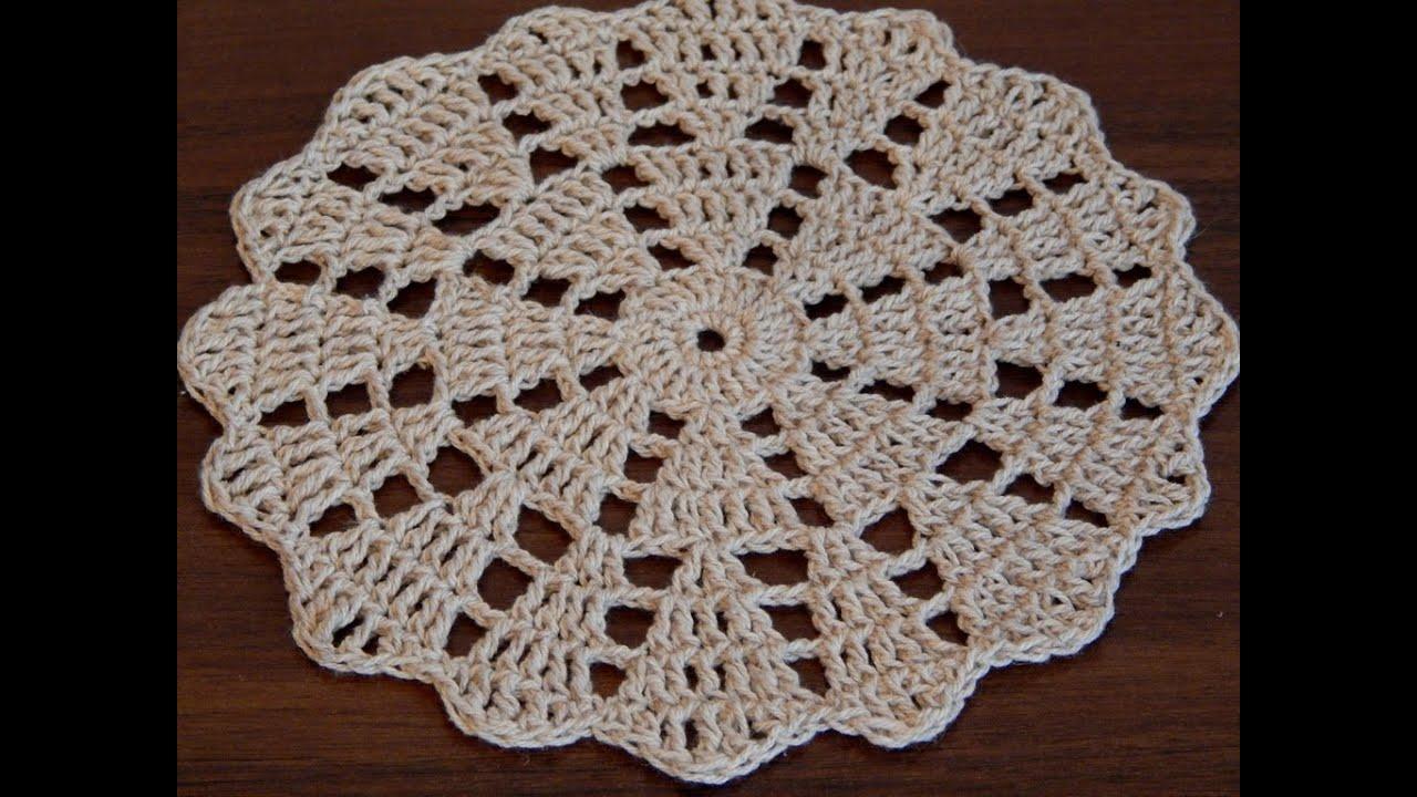Easy Crochet Doily Patterns Free