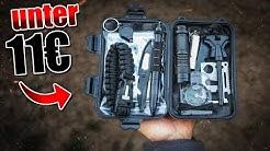 Das GÜNSTIGSTE Survival Kit auf Amazon - Outdoor Bushcraft Ausrüstung   Fritz Meinecke - Gear