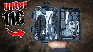 Das GÜNSTIGSTE Survival Kit auf Amazon - Outdoor Bushcraft Ausrüstung | Fritz Meinecke - Gear