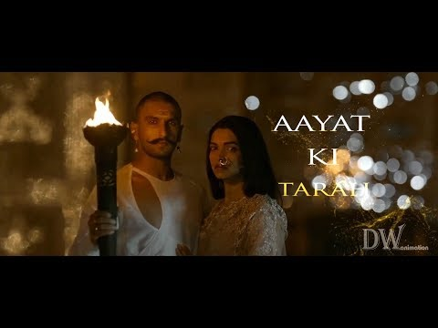 Aayat(Bajirao Mastani) lyrical video song
