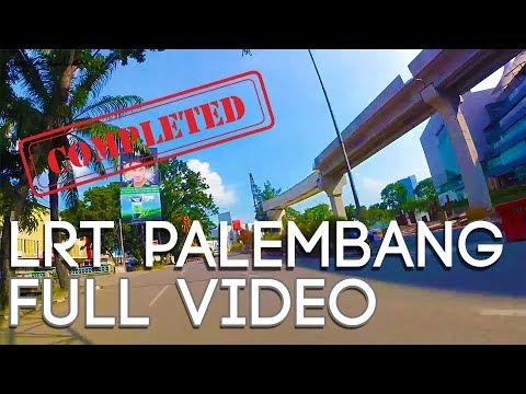 Progress LRT Palembang (Zona 1 - Zona 5) September 2017