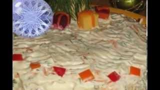 Салат с языком на Новый год.