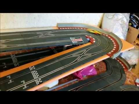 "NINCO ""1"" 55073  Ford GT ""DHL"" on  SCX (SCALEXTRIC – SPAIN) DIGITAL TRACK"