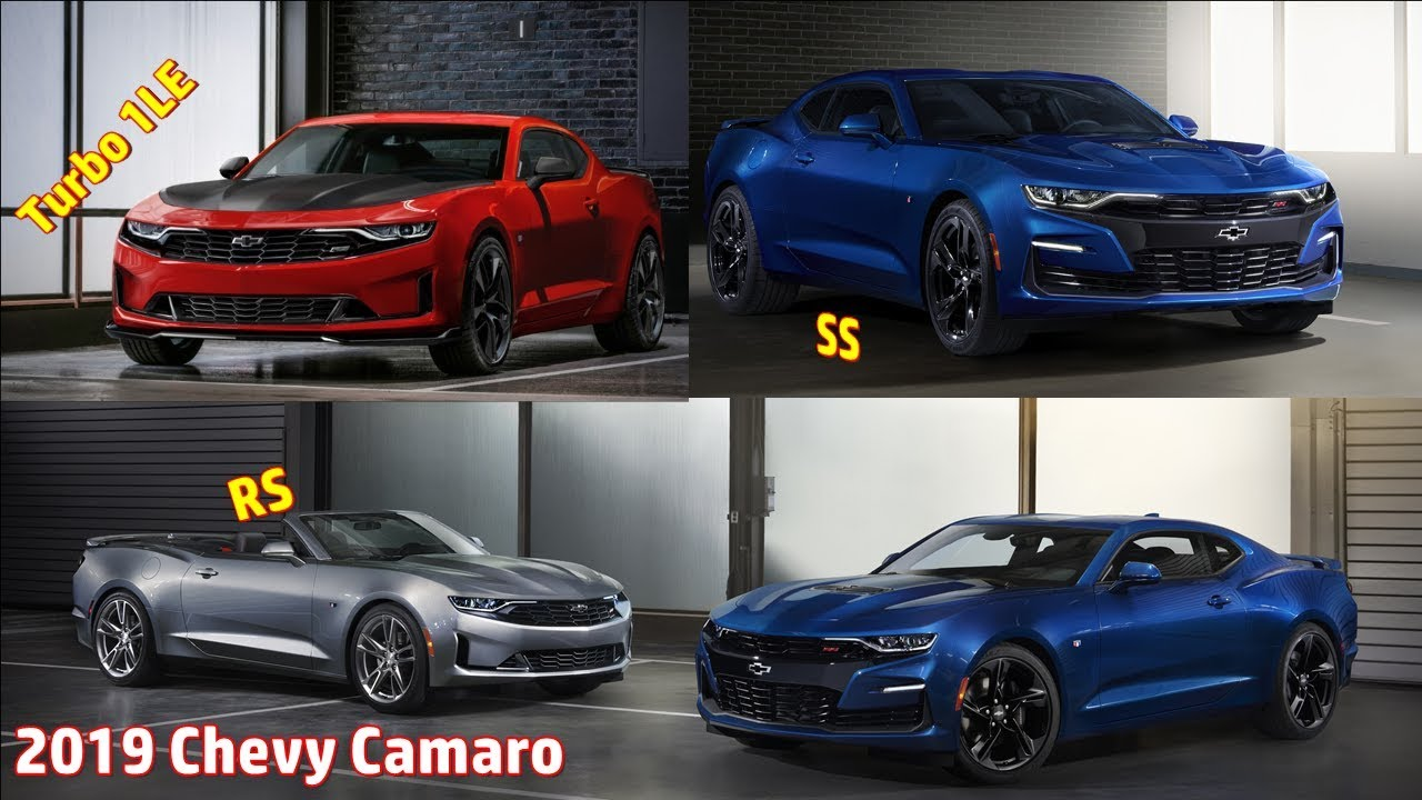 2019 Chevy Camaro Facelift Ext Int Youtube