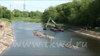 Water King WK 250 Шлюз.wmv(www.tkwd.ru Плавающий экскаватор амфибия благодаря своим уникальным возможностям является незаменимым орудие..., 2011-07-15T14:29:51.000Z)