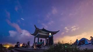 縮時攝影 | 英仙座流星雨2016