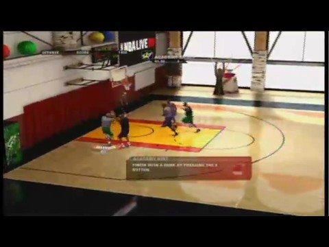 NBA Live 09 Video Review (Xbox 360)