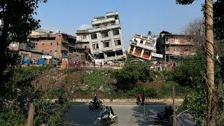 Nepal Earthquake CCTV footage 2015