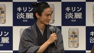 5月26日(木)、グランフロント大阪 ナレッジシアターにてキリン「淡麗極...