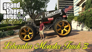 (GTA 5) How to customize a monster truck glitch