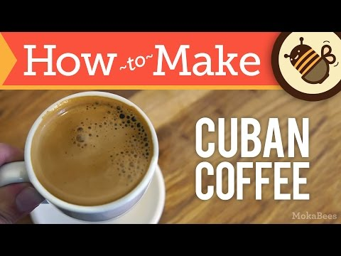 How to Make Cuban Coffee – Cafe Cubano Recipe (Cuban Café 'Espresso' with Faux Crema / Espuma)
