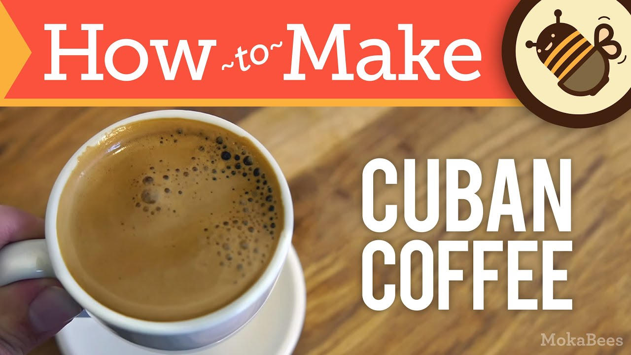 How To Make Cuban Coffee Cafe Cubano Recipe Cuban Caf Espresso