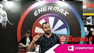[Cowcot TV] COMPUTEX 2019 : Le stand ENERMAX