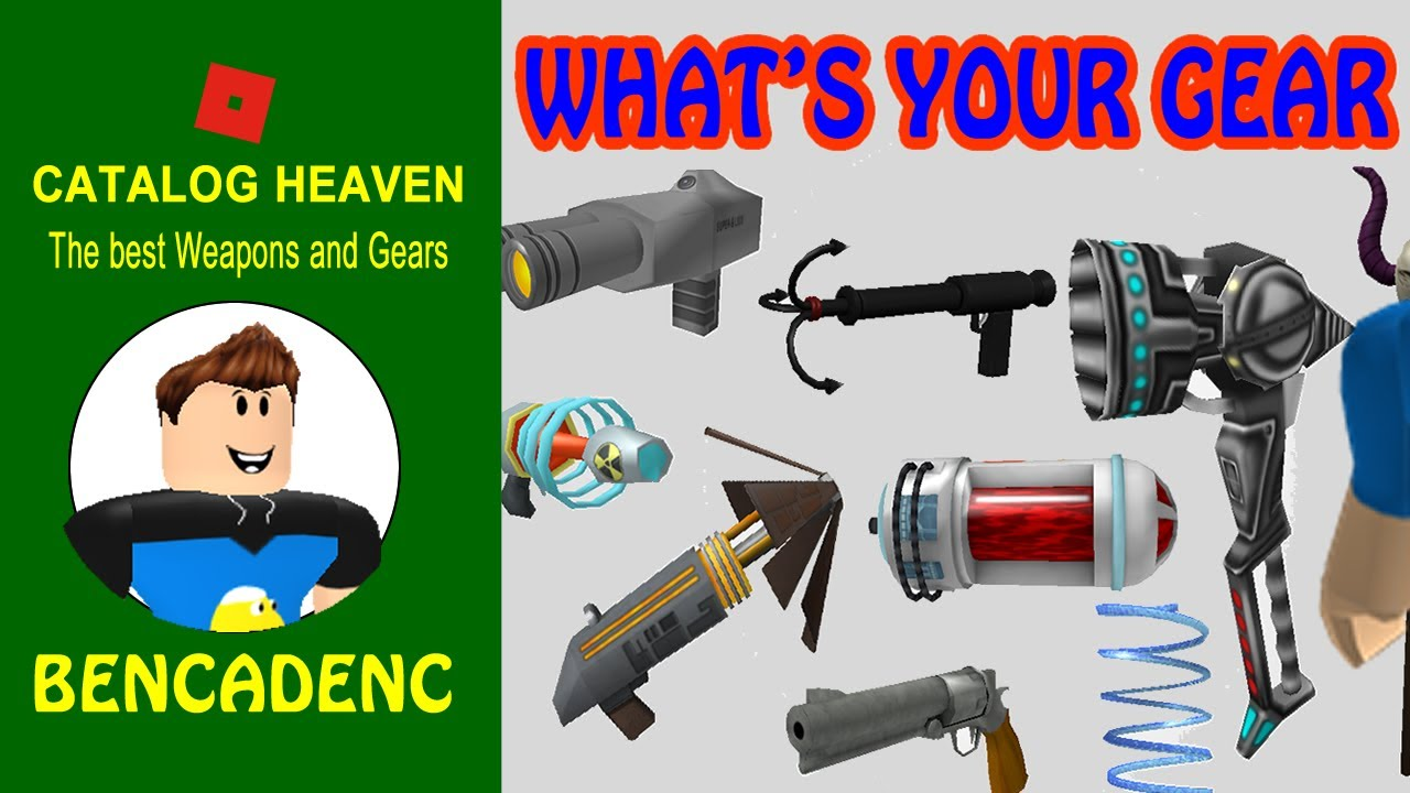 Roblox Catalog Heaven | The best Weapons and Gears