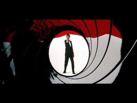 James Bond 007  Intro sequence collage from 19622006