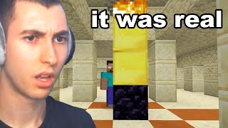 Reacting to Minecraft's History of Easter Eggs