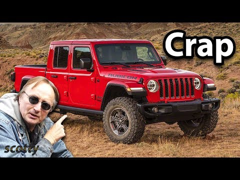 Here's Why Doug Demuro is Full of Crap, The Jeep Gladiator is Not Better Than the 4Runner