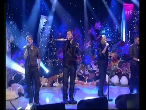 Westlife - What about now on the late late toy show 27nov09