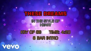 Heart - These Dreams (Karaoke)