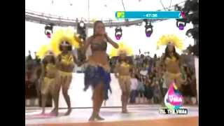 Rihanna - Pon De Replay on mtv - LIVE in Miami