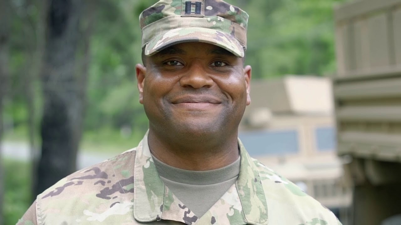 At 33 years old, Capt. Clarence Black decided it was the perfect time for him to join the U.S. Army Reserve.