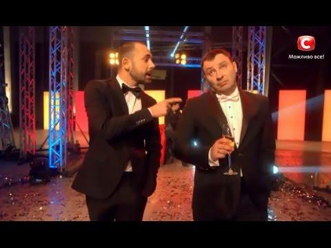 Видео: Уникальное новогоднее шоу 2017 на СТБ