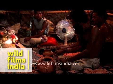 Black magic performed by Aghori baba - Haridwar