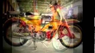 motor honda c70 classic yang menggoda modifikasi motor pitung