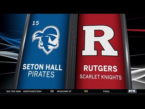Seton Hall at Rutgers - Men's Basketball Highlights