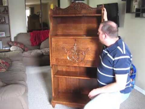 Antique Larkin-Style Secretary Desk