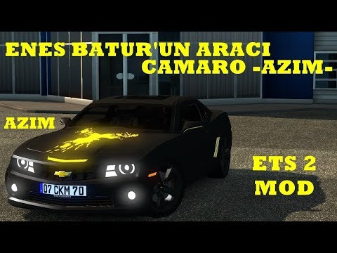 Euro Truck Simulator 2/ ARABA MODU KULLANMA/Enes Batur Camaro AZİM
