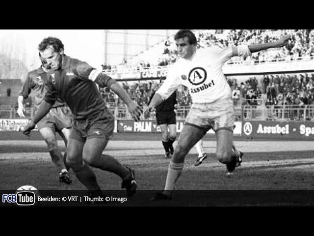 1988-1989 - Jupiler Pro League - 16. Club Brugge - Racing Genk 3-0