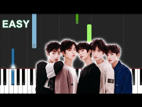 TXT - Run Away (EASY Piano Tutorial)