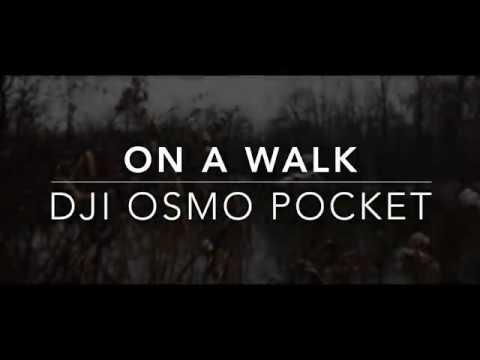 DJI OSMO POCKET CINEMATIC FOOTAGE TEST 4K - On a Walk