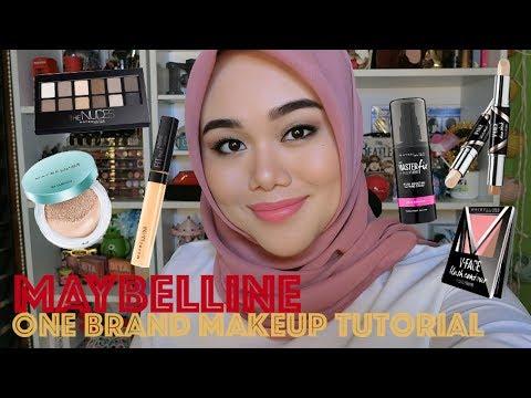 MAYBELLINE ONE BRAND MAKEUP TUTORIAL | MakeupbyFatya
