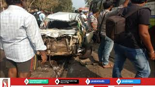 FATAL ACCIDENT AT KARWAR KILLS MARGAO COUPLE│Prudent Media Goa