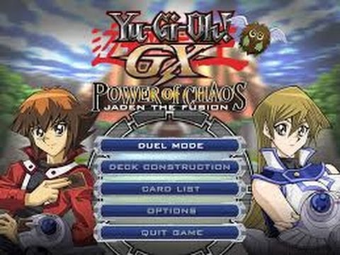 yu gi oh gx power of chaos pc gratuit