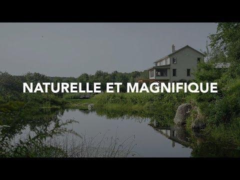 Maison naturelle et magnifique au Québec [VISITE]