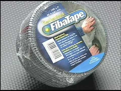 Fibatape 174 Cement Board Tape How To Install Portuguese
