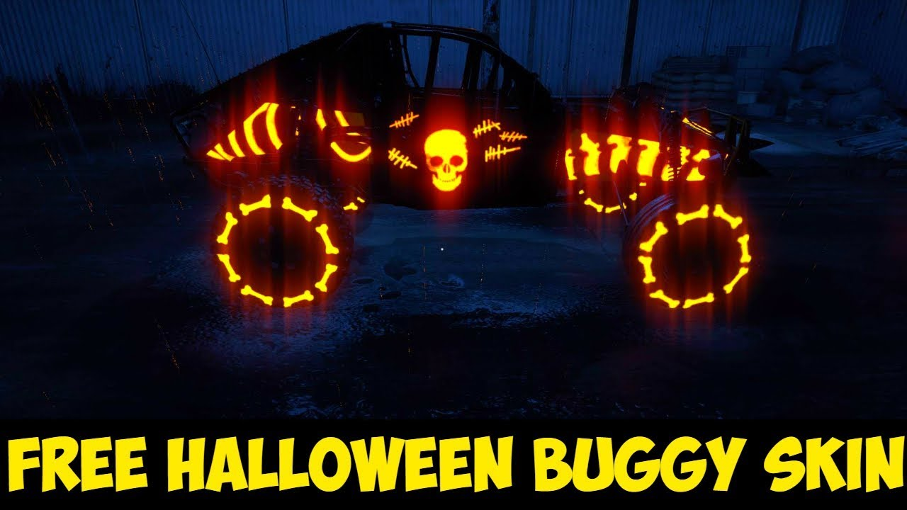 Dying Light Free Halloween Buggy Skin Karcass
