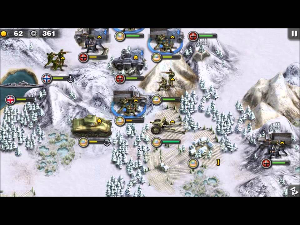 Glory Of Generals Walkthrough