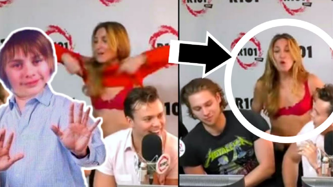 Girl STRIPS For 5SOS In AWKWARD Interview!
