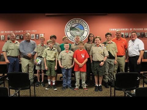 Pickens County Board of Commissioners October 2017