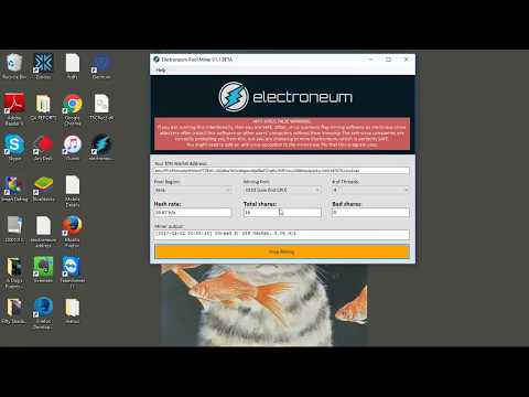 Getting started with Electroneum Mining