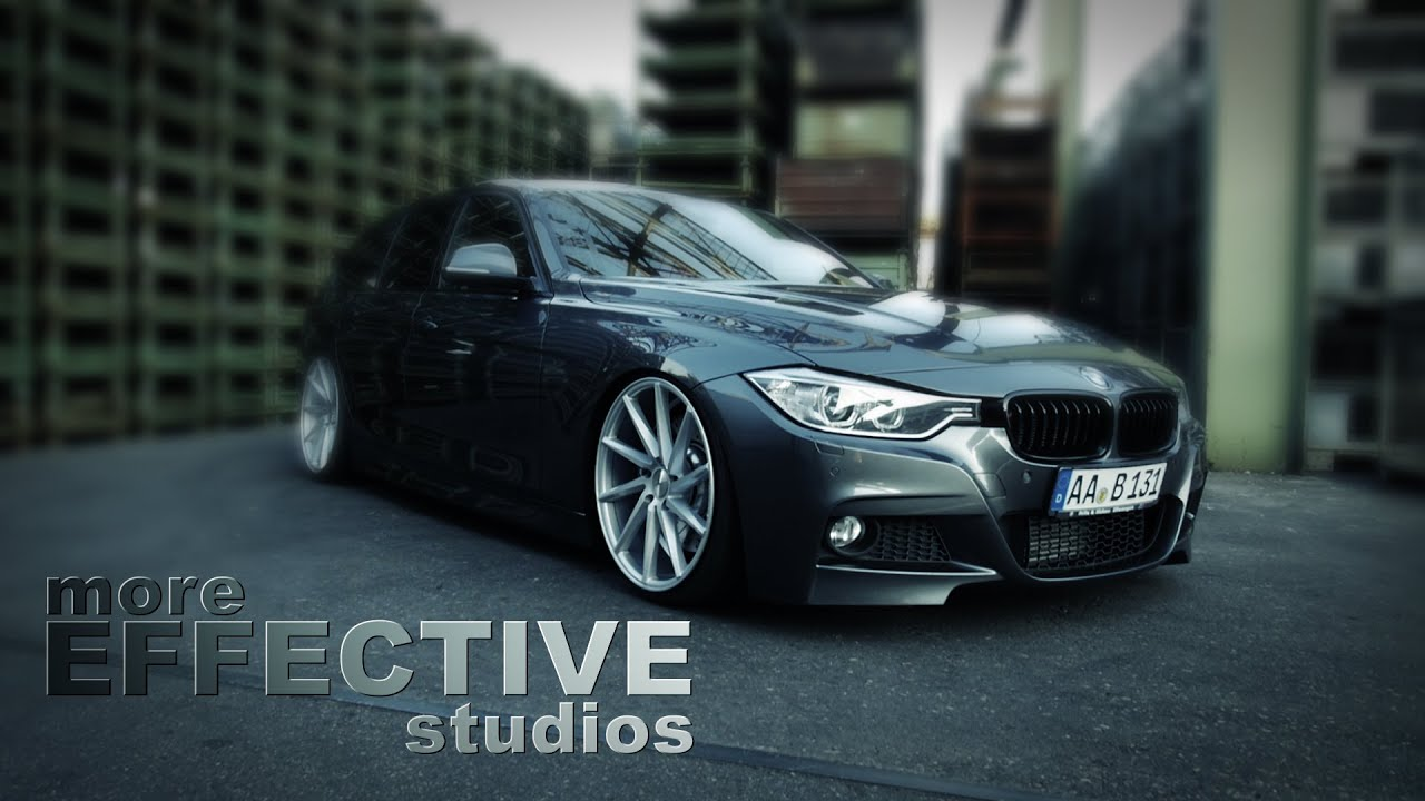 Bmw F31 330d On 20 Quot Vossen With H Amp R Deep Shortcut More