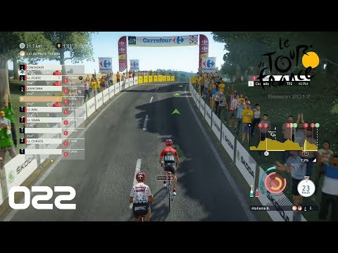 Tour de France 2017 [PS4] #022 - Keine Zeit zum durchatmen - Let's Play