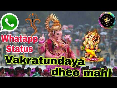 Whatap status Ekadantaya Vakratundaya  Gauritanyay Dheemahi - Shankar Mahadeva Vinayaka||vk studio||